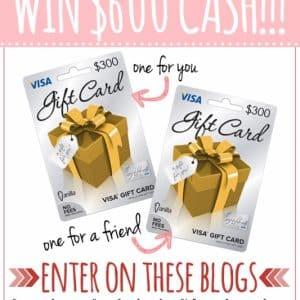 Share The Love- Win $600 in cash!