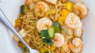 Shrimp Ramen Lo Mein