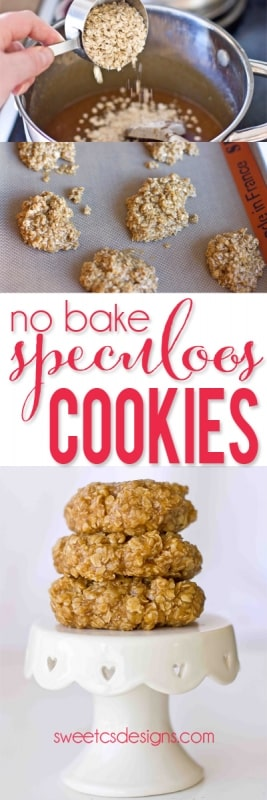 these are the best no bake cookies ever- with cookie butter!