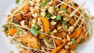 Meyer Lemon and Siracha Chicken Stir Fry