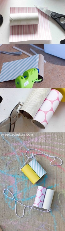 Quick and easy DIY kids binoculars- an awesome summer idea!