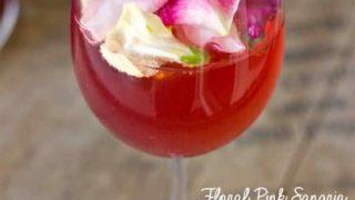 Floral Pink Sangria and Virgin Sangria