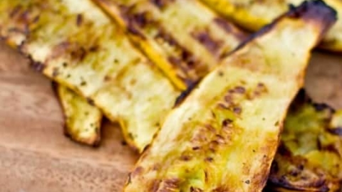 Easy Grilled Yellow Squash