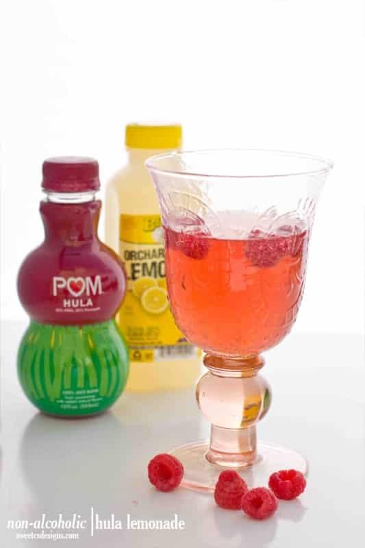 non alcoholic hula lemonade