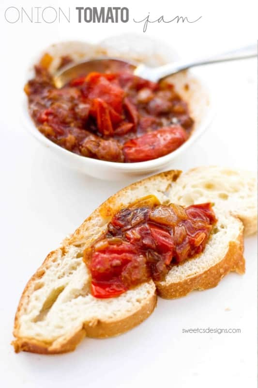 onion tomato jam