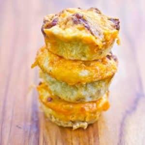 Paleo Egg & Chorizo Muffins