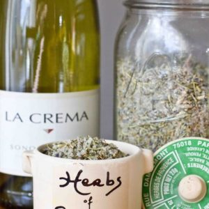 Make Your Own Herbs de Provence Grilling Salt