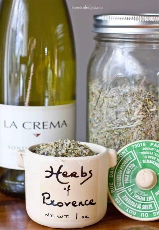 Make Your Own Herbs de Provence Grilling Salt