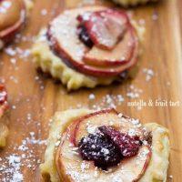 Nutella & Fruit Tarts