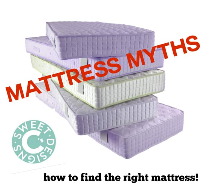 common mattress buying myths- use this guide to find the right mattress!