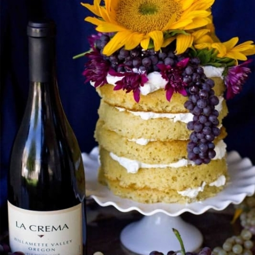Wine Infused Whipped Cream Icing