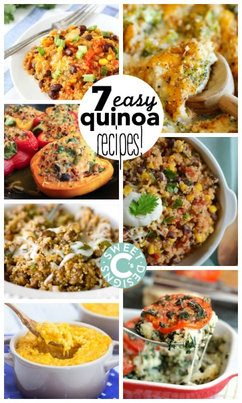 Cheesesteak Quinoa Bake and 7 easy quinoa recipes your whole family will love!