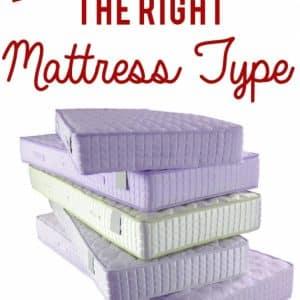 All About Mattress Types