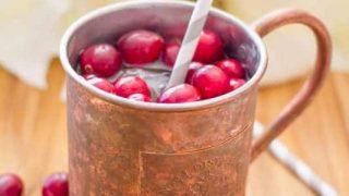 Sparkling Cranberry Mules