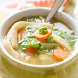 Semi Homemade Chicken Noodle Soup Recipe