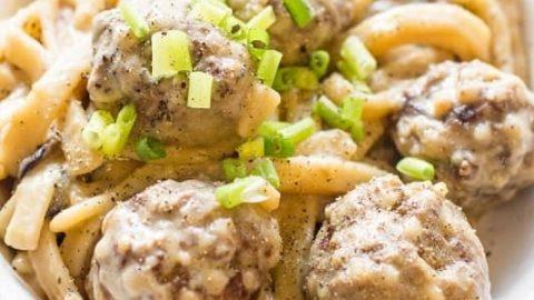 Cous Cous Porcupine Meatballs