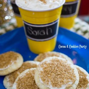 Iced Cocoa and Easy Drop Sugar Cookies With SOLO
