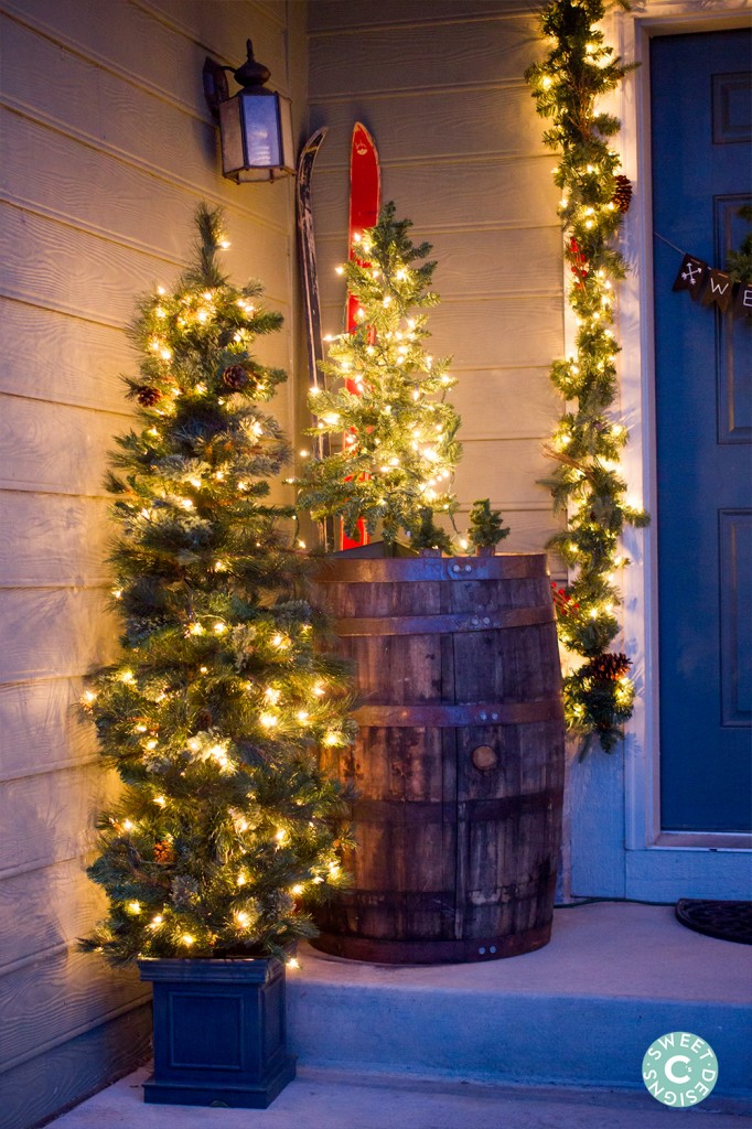 entryway christmas decor ideas - Entryway Christmas Decorations