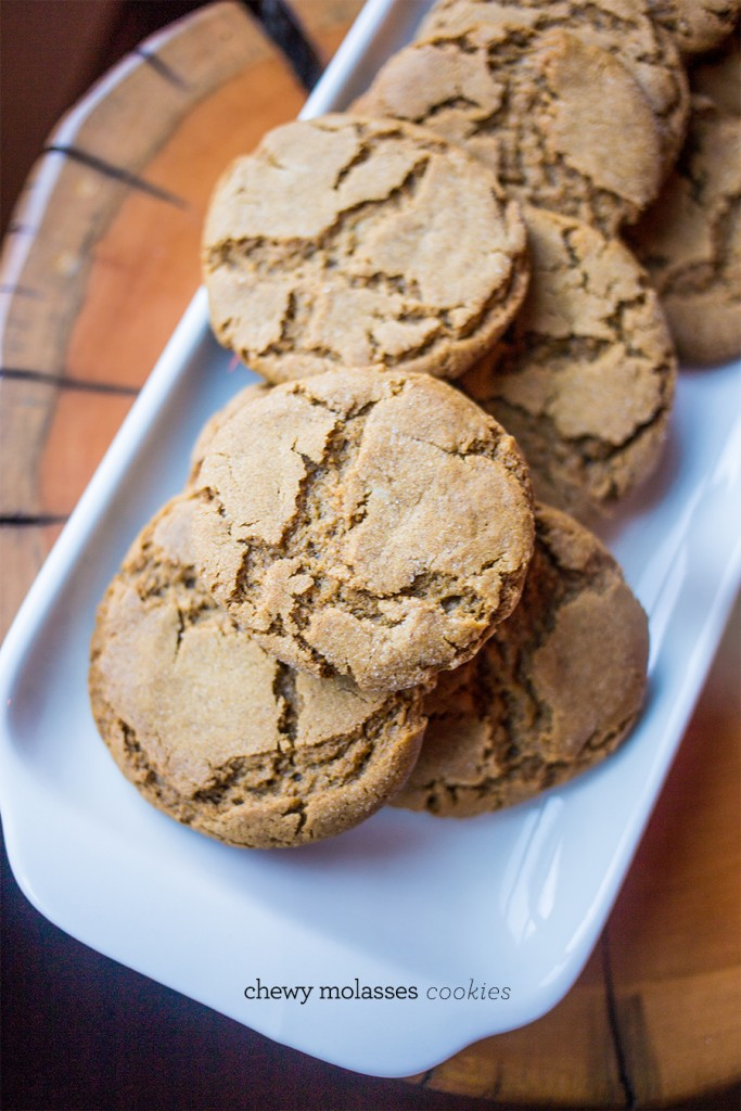 Chewy molasses cookies- this is my favorite recipe!