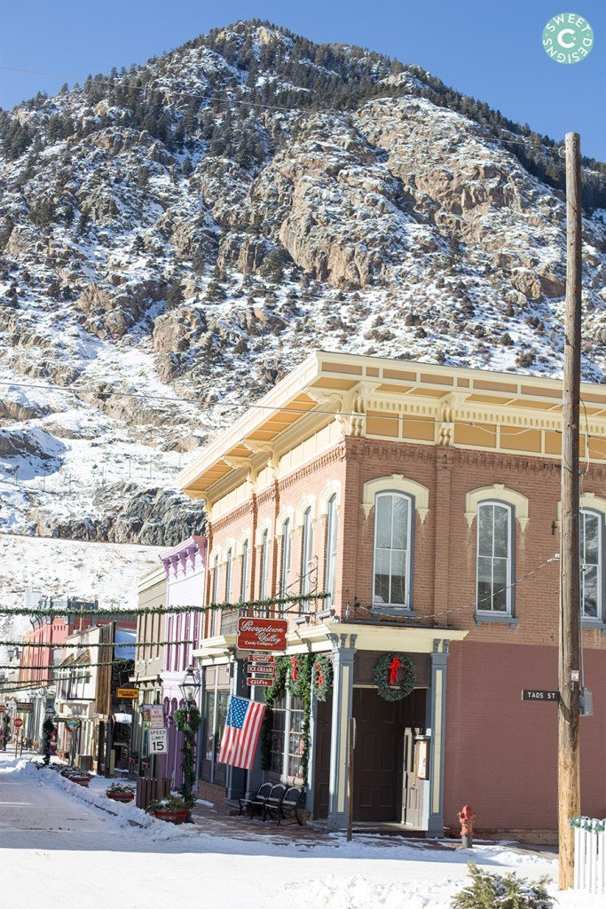 Georgetown Colorado- so cute at Christmas!