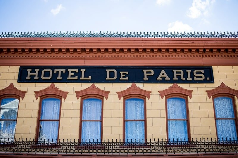 Hotel de paris Georgetown colorado