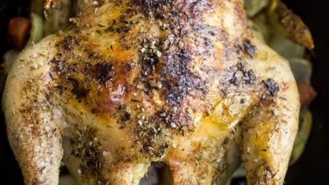 Foolproof Thyme Roast Chicken