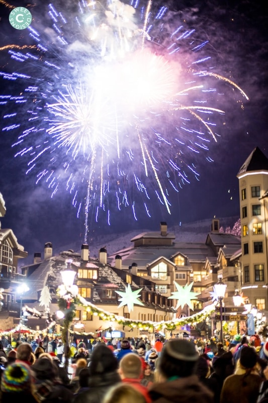 fireworks over beaver creek resort