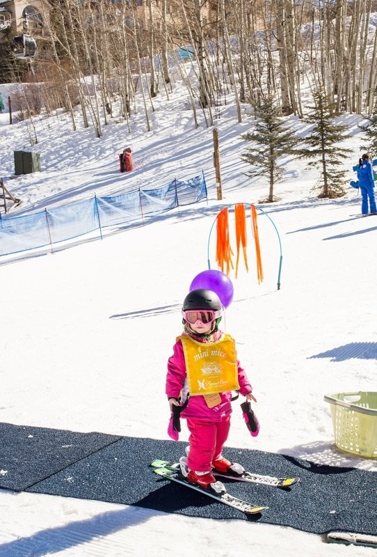 Beaver Creek Ski School- they are so great with little kids!