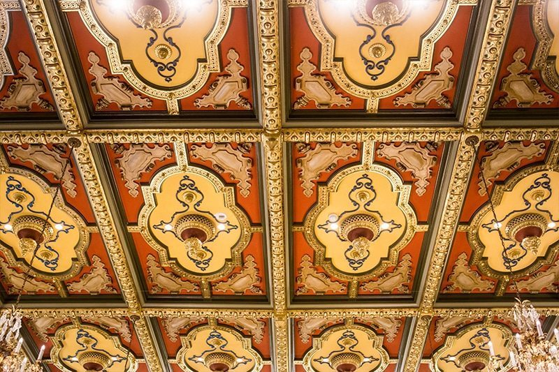 Salt Lake City- Joseph Smith Building Ceiling