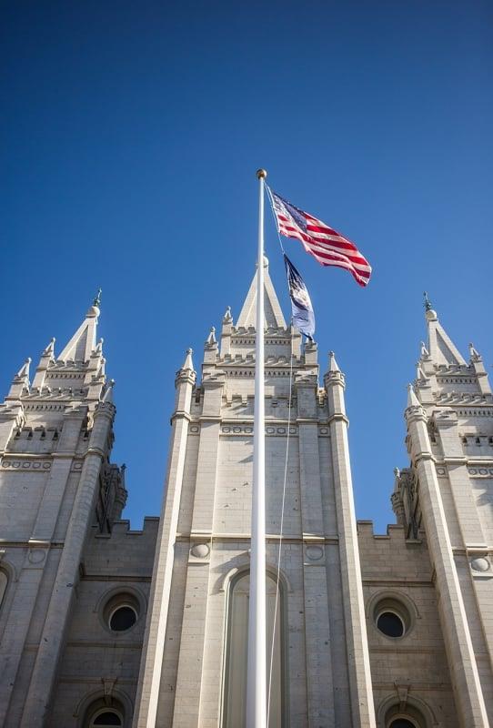 Salt Lake City Temple- East View