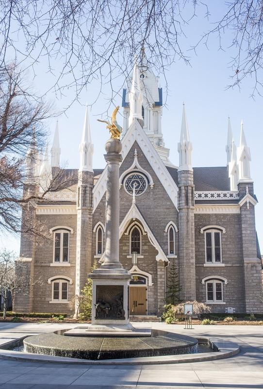 Salt Lake City- temple square buildings