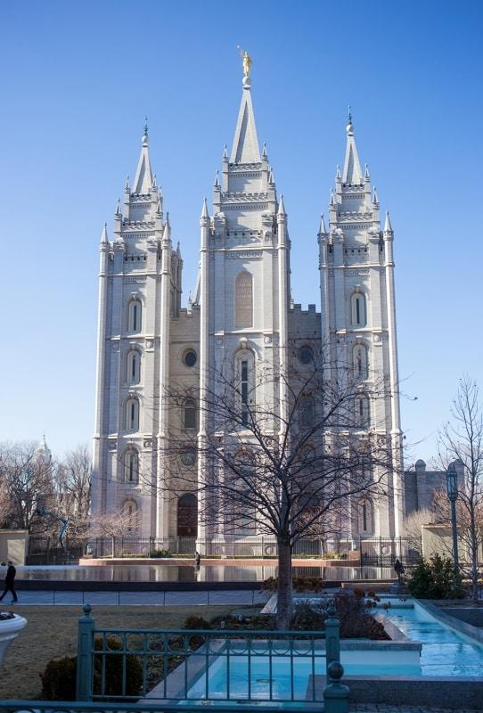 Salt Lake City- temple