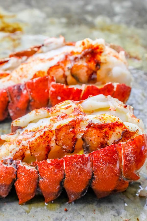 Perfect Oven Broiled Lobster Tails Recipe Oven Baked