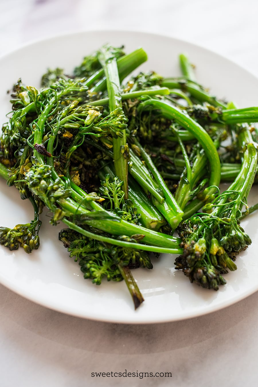 This is the best way to cook broccolini ever- and it only takes 10 minutes!