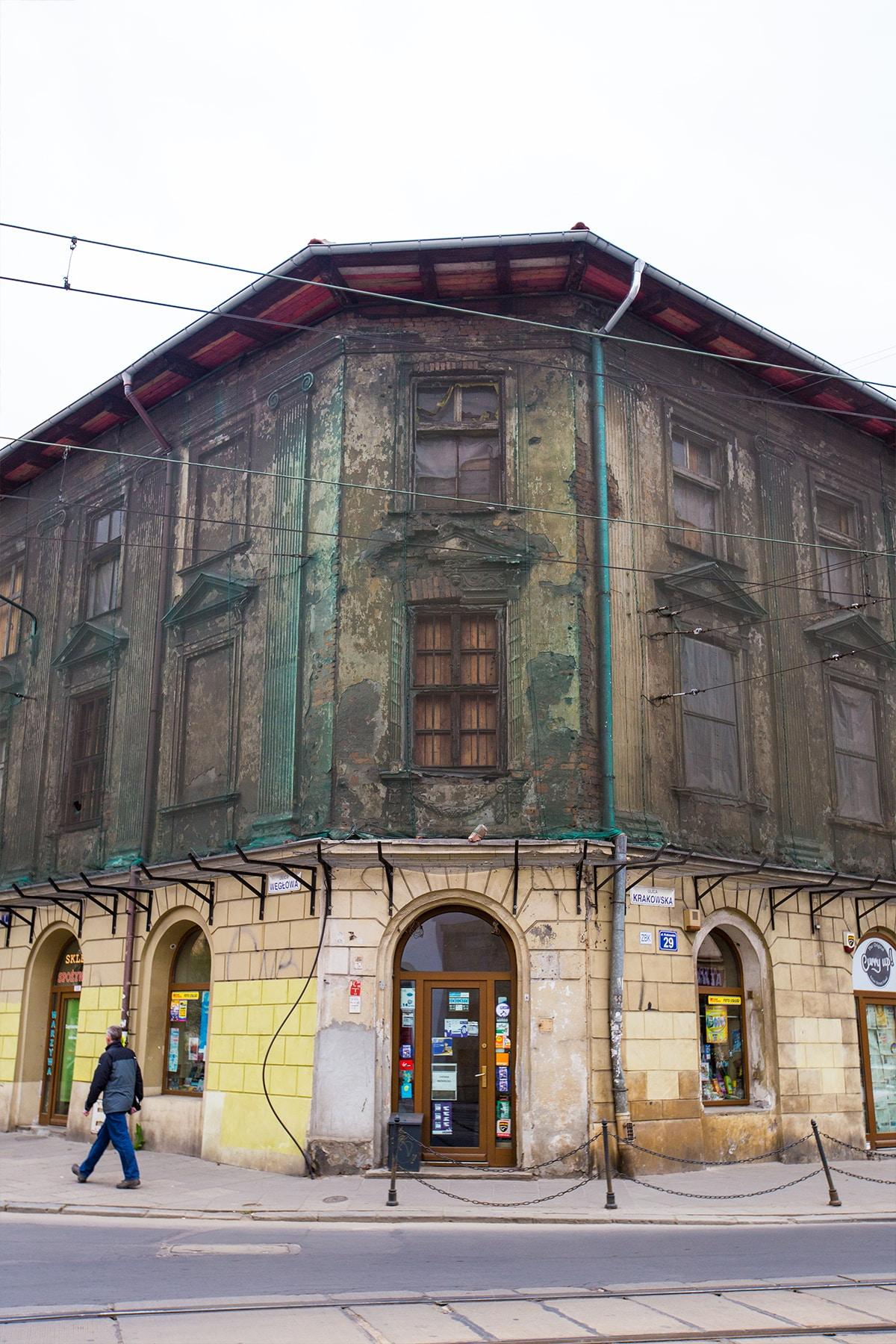 Building renovation, Krakow