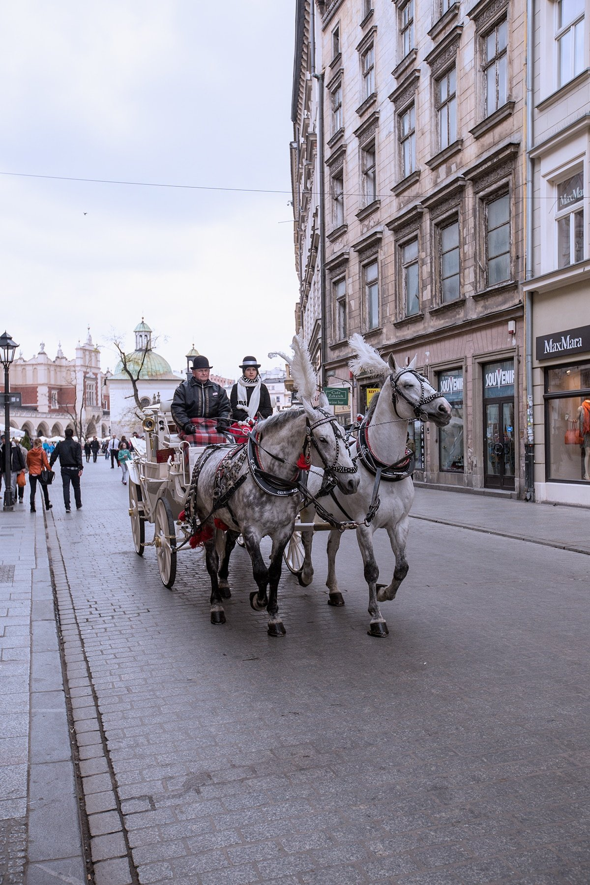 Carriage ride through Krakow- bucket list!!!
