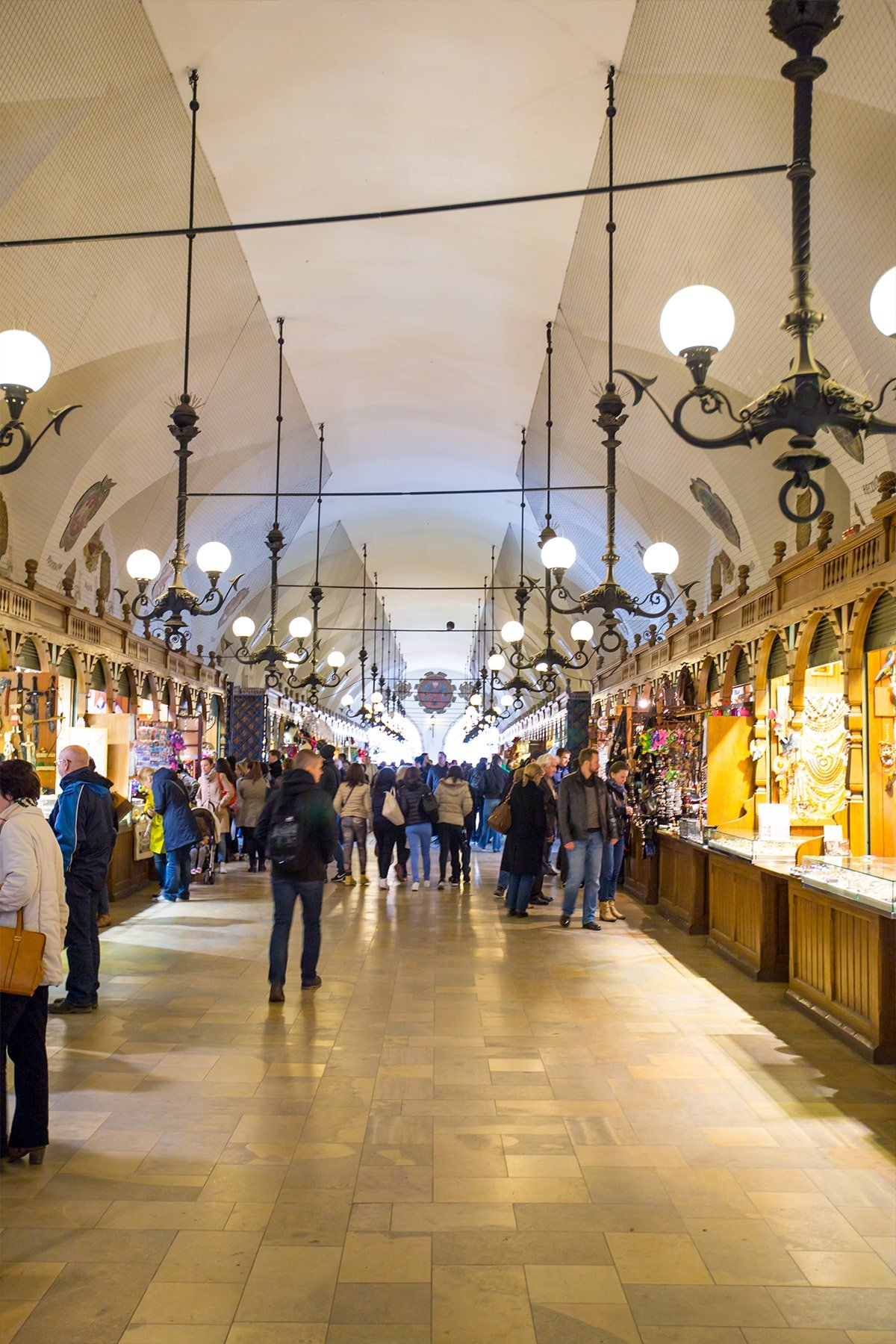 Krakow Cloth Hall- tons of great prducts and a fun place to visit!