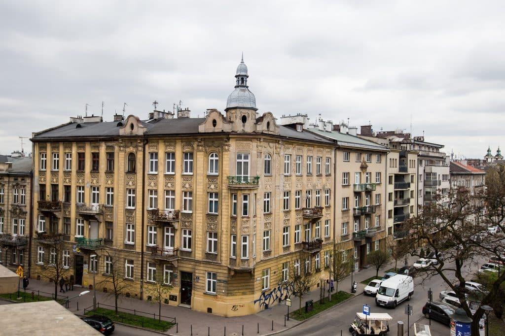 Krakow from Wawel Castle