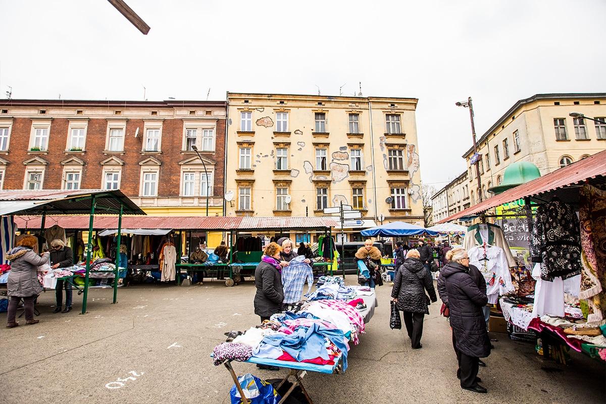 Plac Nowy Flea Market- Krakow's Jewish District