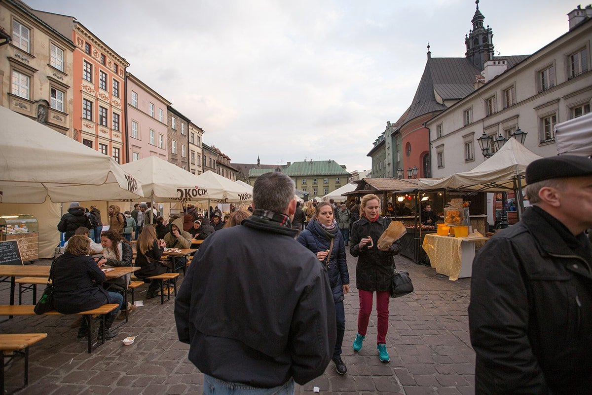 Street food fair in Krakow