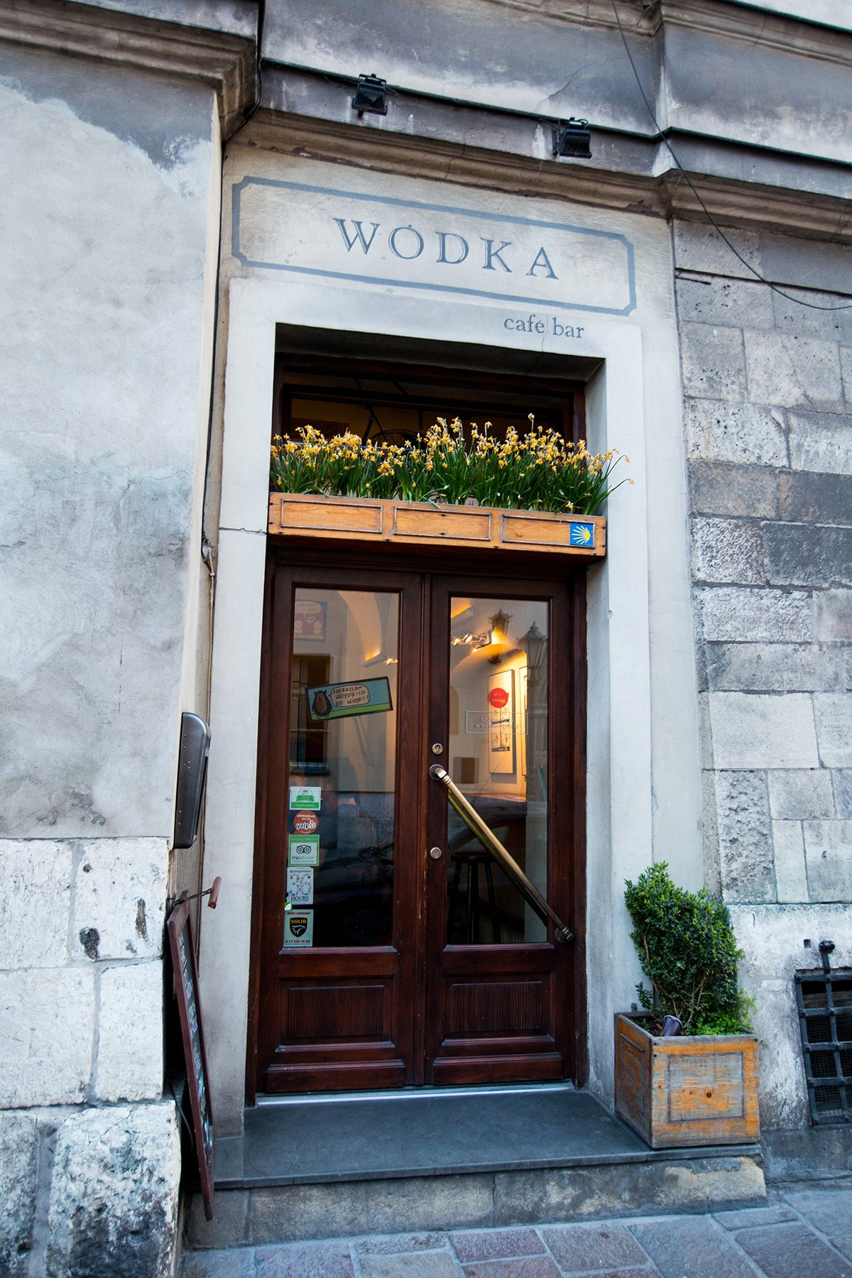 The best vodka bar in krakow- so many delicious flavors to try and so inexpensive!