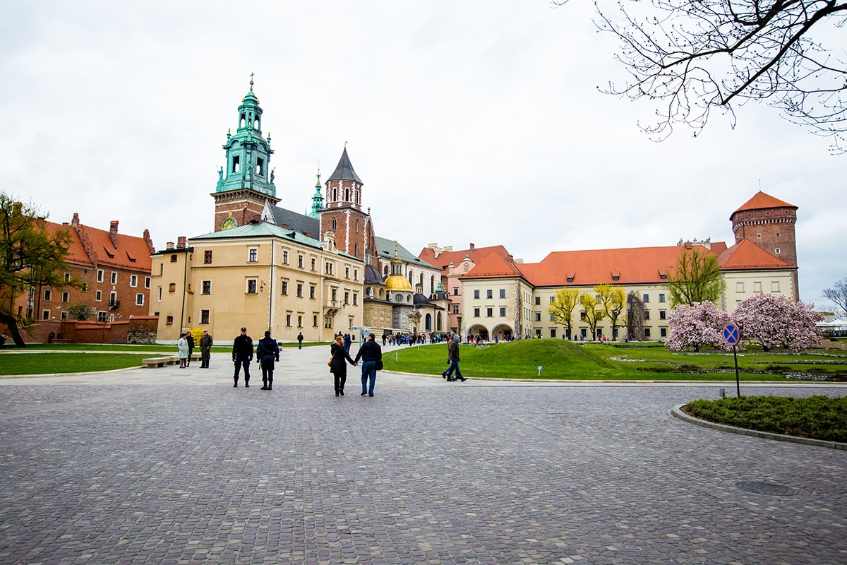 Wawel Castle Krakow- I love visiting here.