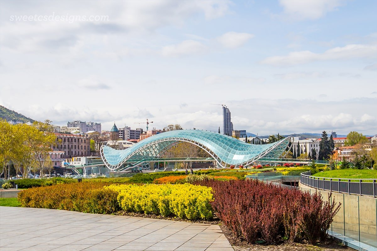 Bridge of Peace, Tbilisi Georgia copy