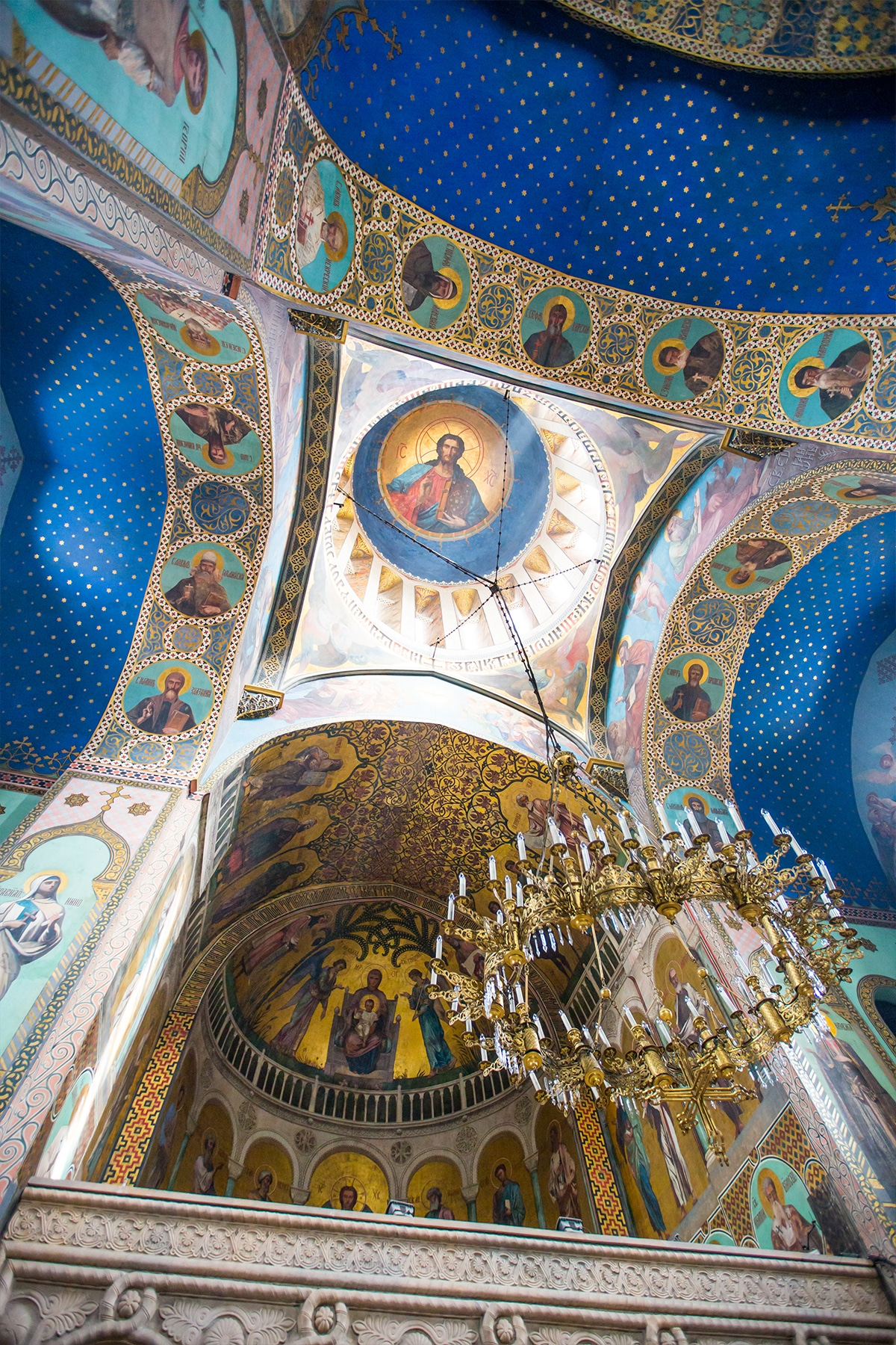 Inside Sioni Cathedral, Tbilisi- the most gorgeous church I've ever visited!