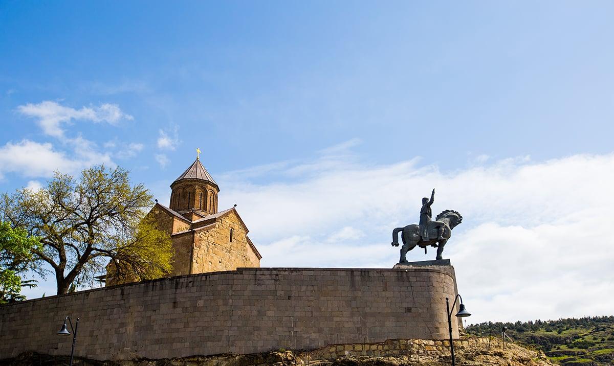 King Vakhtang Gorgasali, Tbilisi
