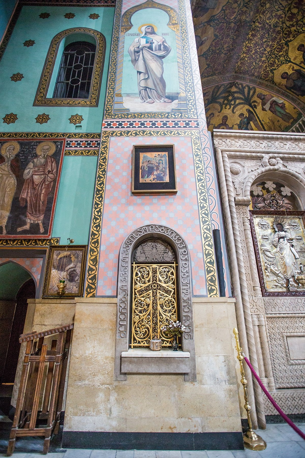 Saint Nino's Cross, Sioni Cathedral, Tbilisi
