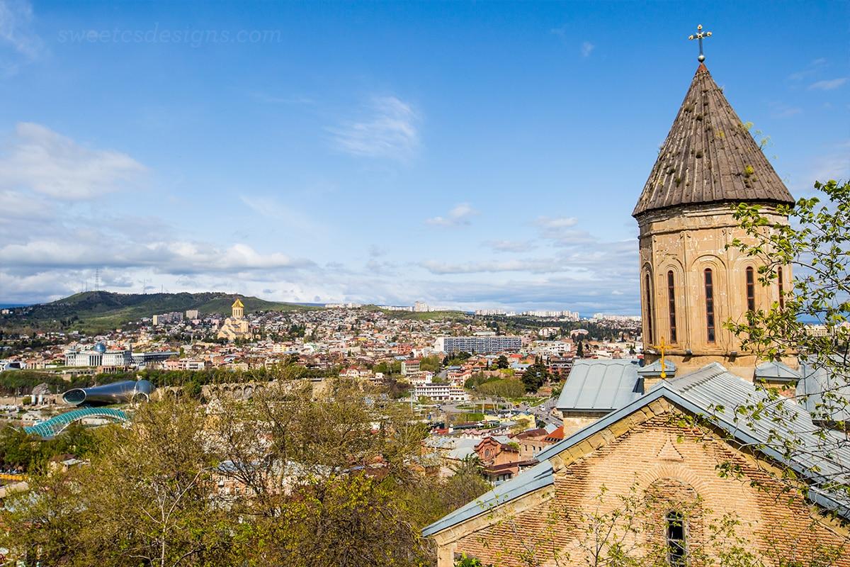 How To Buy A Car In Tbilisi Georgia: Cable Car, Bridge Of Martyrs, Narikala