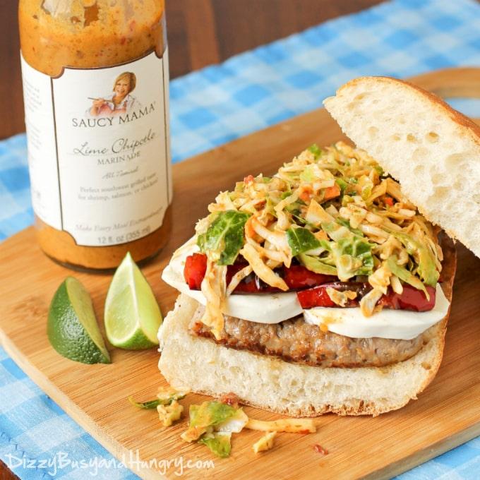 sausage-mozzarella-sandwich-with-chipotle-lime-slaw-1