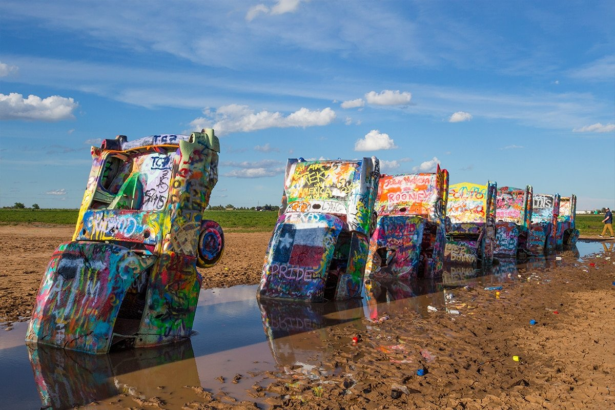 Cadillac Ranch, Just outside Amarillo