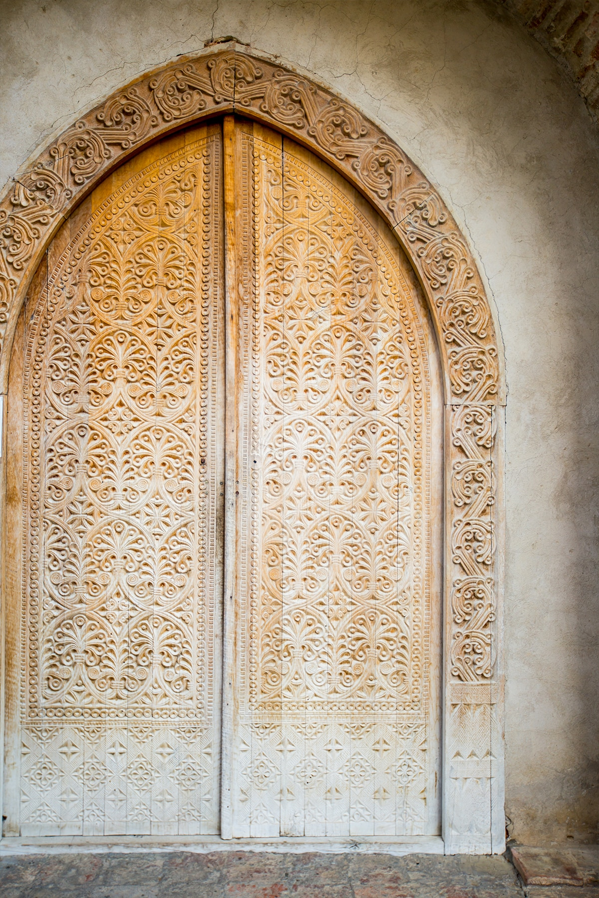 Door at Saint Nino's Monastery, Georgia